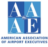 American Association of Airport Executives badge