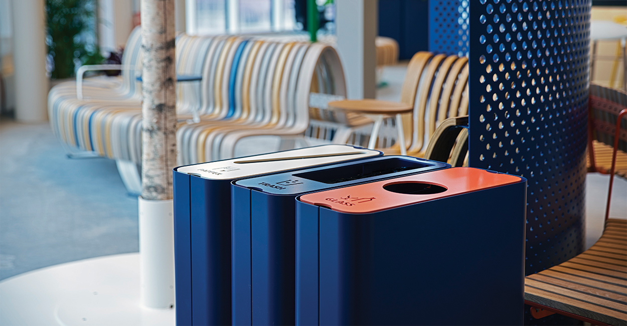 Radius Recycle Bins